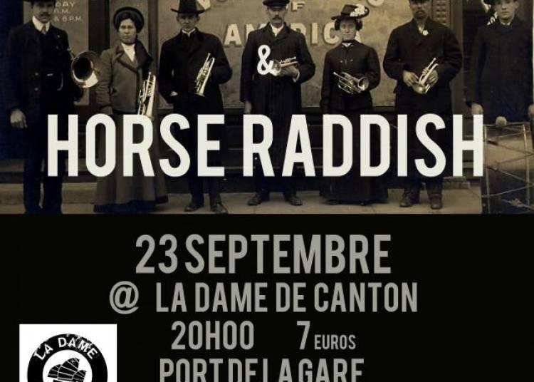 Moshi Moshi et Horse Raddish � Paris 13�me