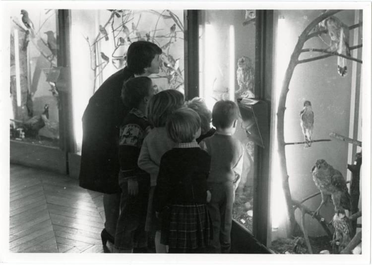 Visite comment�e de l'exposition � Amiens