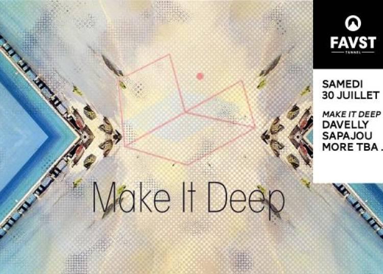 Faust et Make It Deep : Sapajou, Davelly, Johnny Power & Gabor � Paris 8�me