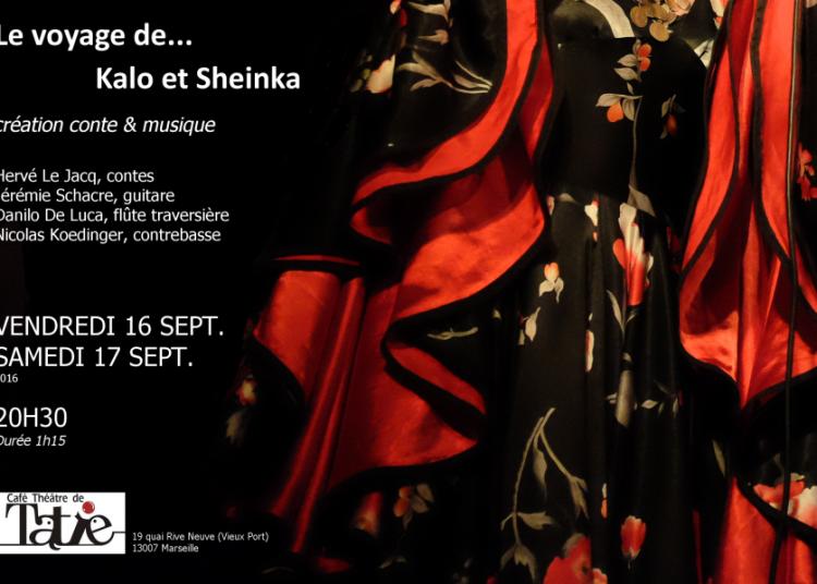 Le voyage de Kalo et Scheinka - conte musical � Marseille