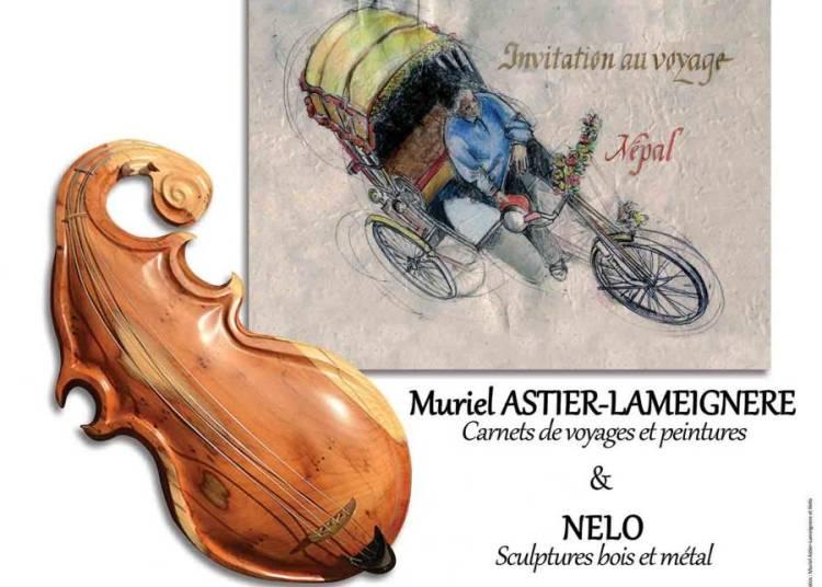 Muriel Astier-lameignere Et Nelo � Ballan Mire