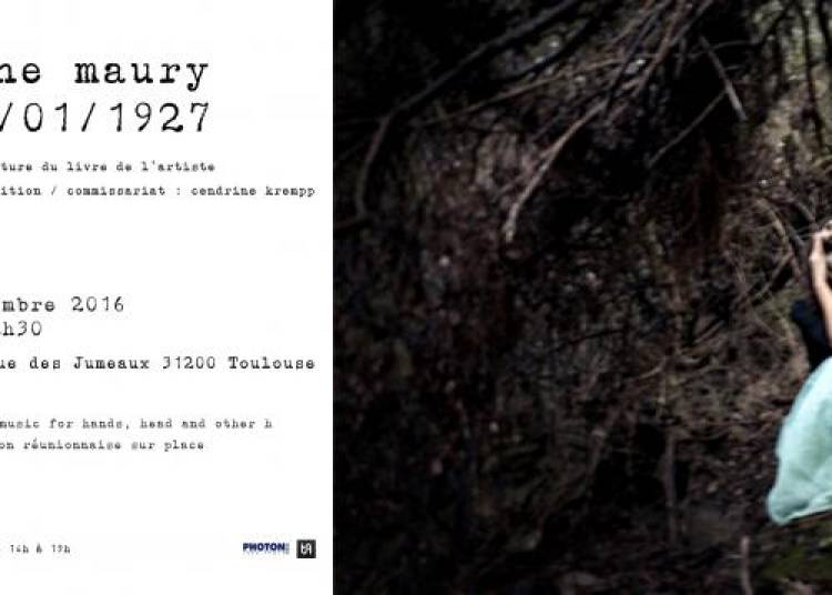 Exposition photographique : fragment 12/01/1927 - Delphine Maury � Toulouse