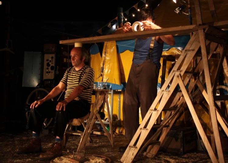 A Rovescio dans le cadre de Jours [et nuits] de Cirque(s) � Aix en Provence