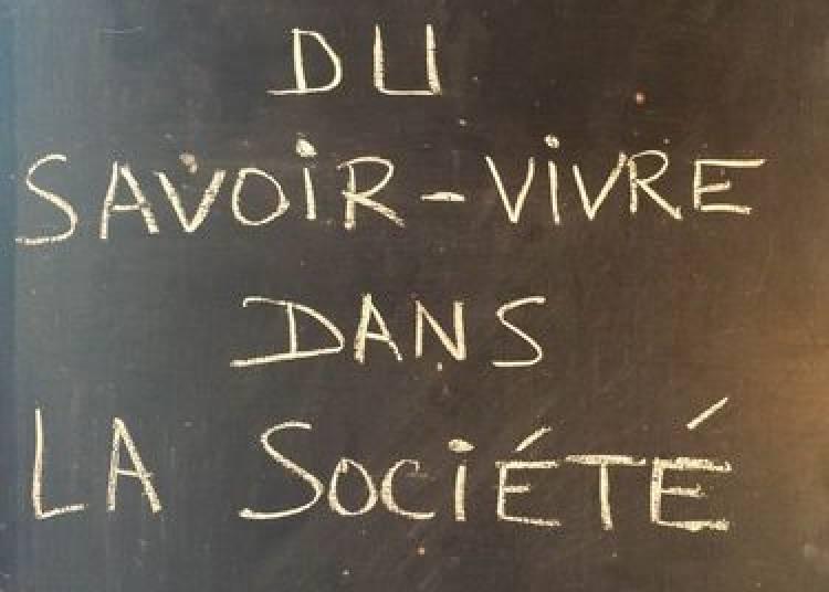 Les R�gles du savoir-vivre dans la soci�t� moderne � Lyon