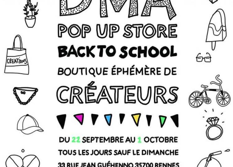 Pop Up Store, Back To School � Rennes