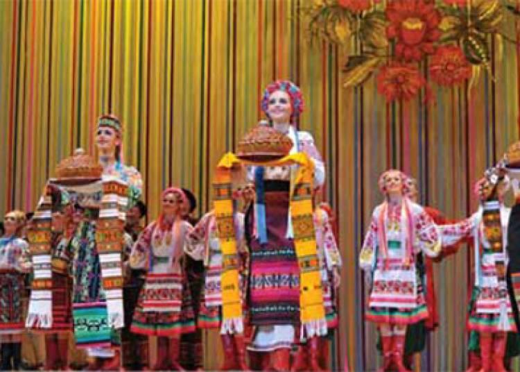 Le ballet d'Ukraine � Pouzauges