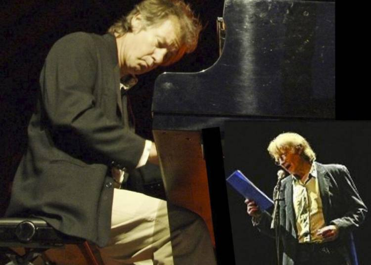 Blue Note avec Michel Jayat, com�dien et Laurent Genty au piano � La Meziere