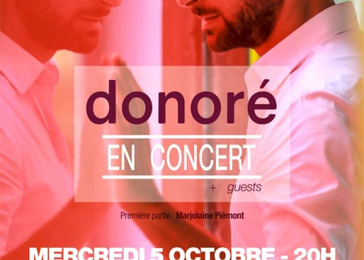 Donore En Concert � Paris 17�me