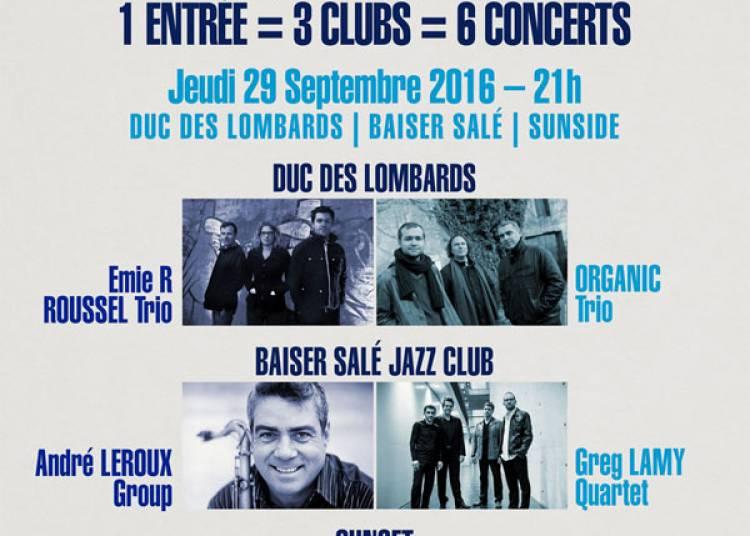 Emie R Roussel Trio et Organic Trio � Paris 1er