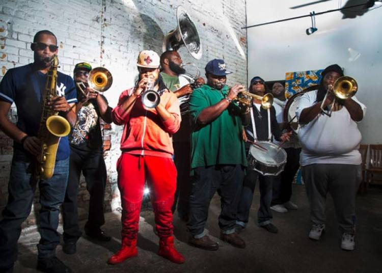 Hot 8 Brass Band et United Vibration � Gennevilliers
