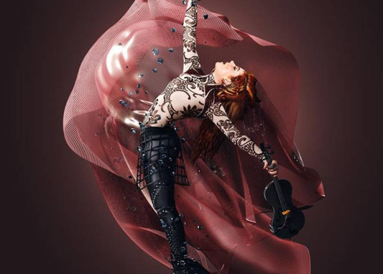 Lindsey Stirling � Paris 19�me