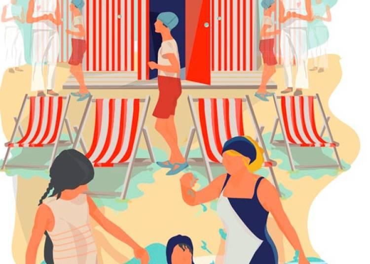 � chacun sa cabine de plage � Paris 16�me