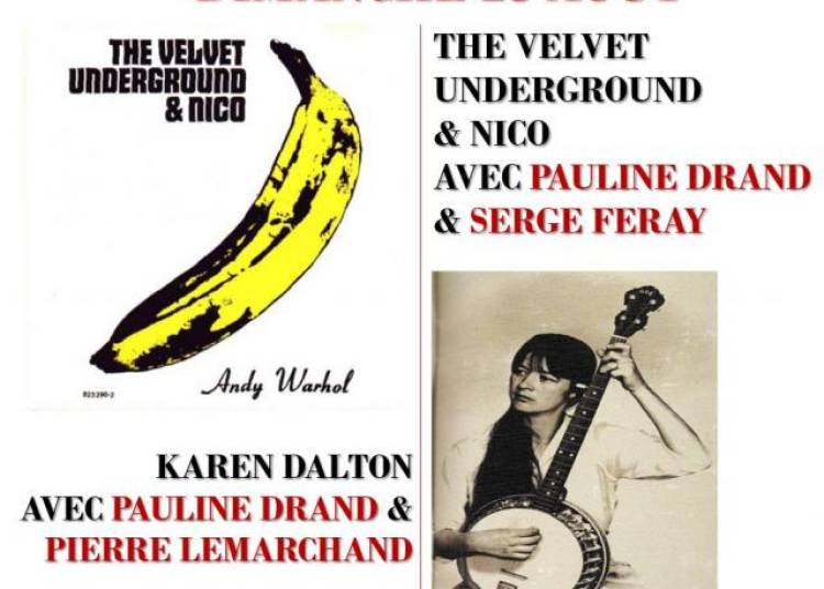 Soiree Livre Unplugged The Velvet Underground � Paris 20�me