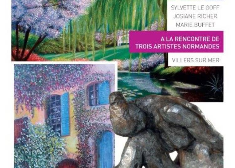 A la rencontre de trois artistes Normandes � Villers sur Mer