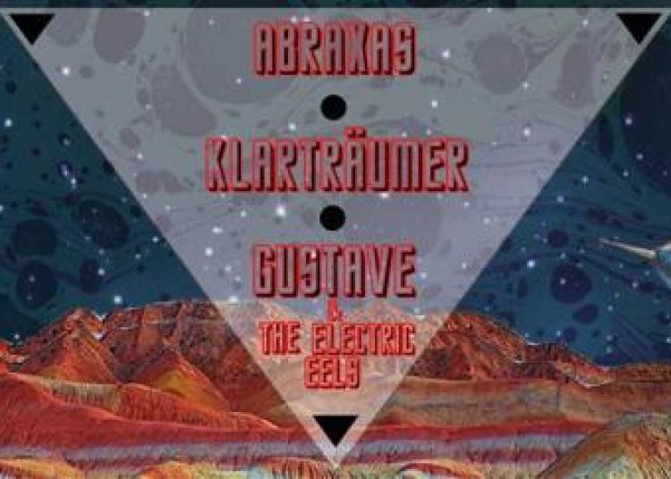 Space Summer : Abraxas, Klartr�umer, Gustave & The Electric Eels � Paris 11�me