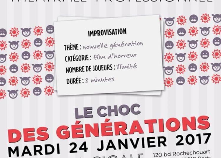Match D'impro Professionnel Le Choc Des Générations à Paris 18ème