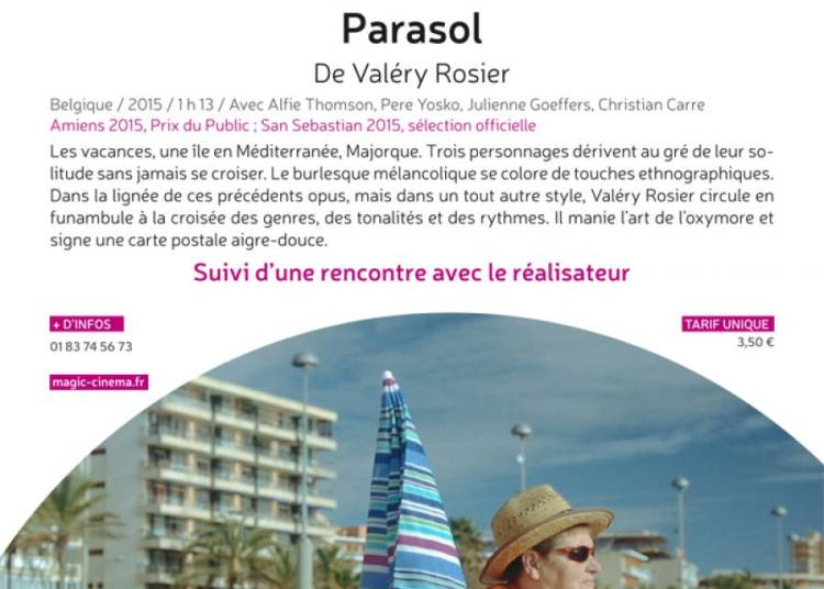 Rencontre de l'�t� - Parasol 2016