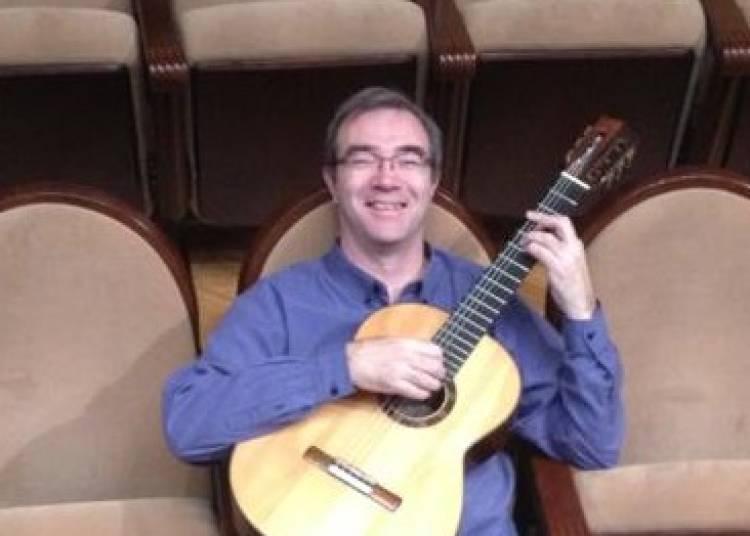 Un virtuose de la guitare : Eric Franceries à Saint Ismier