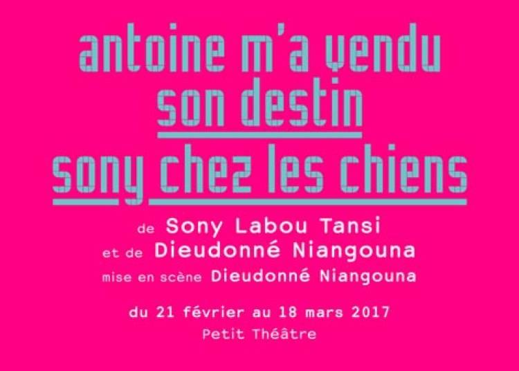 Antoine M'a Vendu Son Destin � Paris 20�me
