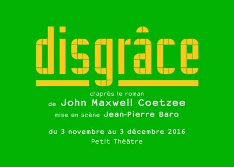 Disgrace � Paris 20�me