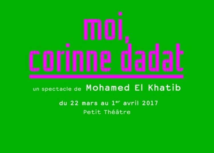 Moi, Corinne Dadat � Paris 20�me