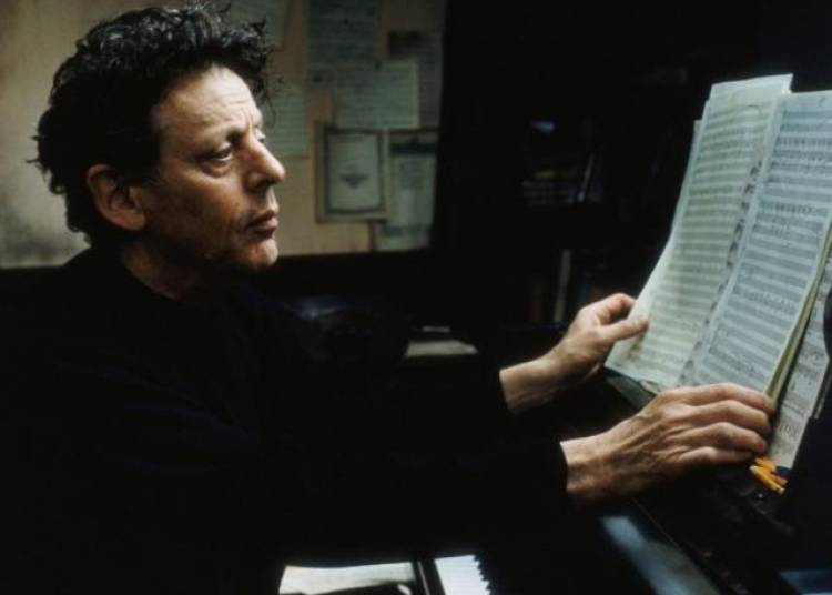 Portrait Philip Glass � Paris 19�me