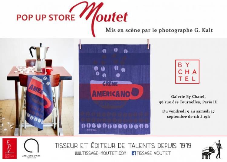 Tissage Moutet monte son Pop up store � Paris ! � Paris 3�me