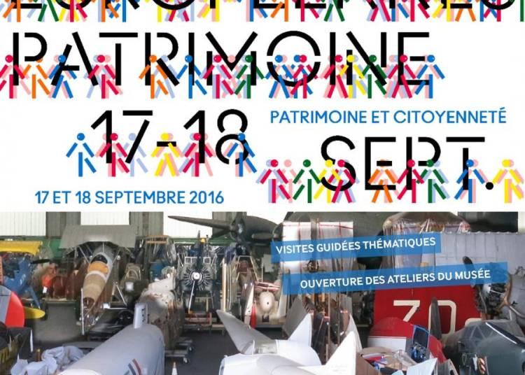 Les Journ�es europ�ennes du patrimoine 2016 au mus�e de l'Air et de l'Espace