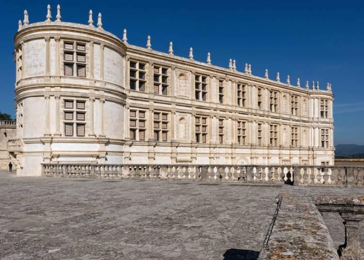 Facade Sud Du Ch�teau De Grignan