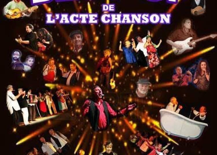 Herv� Tirefort pour le best of de l'acte chanson � Montpellier