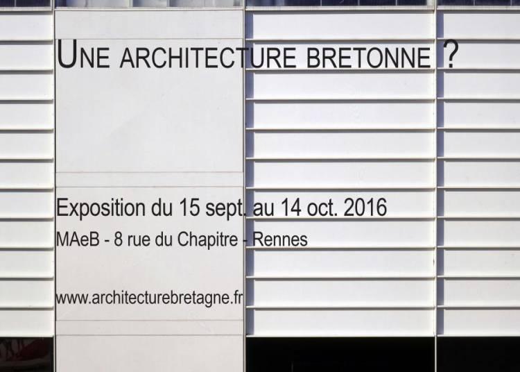 Une Architecture Bretonne? � Rennes