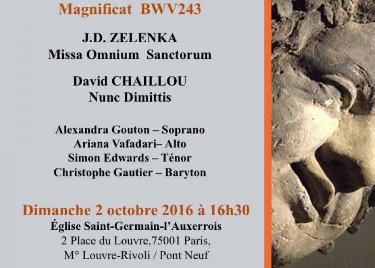Magnificat de J.S Bach, Missa Omnium Sanctorum J.D Zelenka � Paris 1er