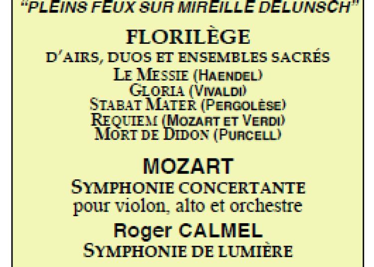 Concert symphonique, Musique sacr�e autour de Mireille Delunsch � Le Mans