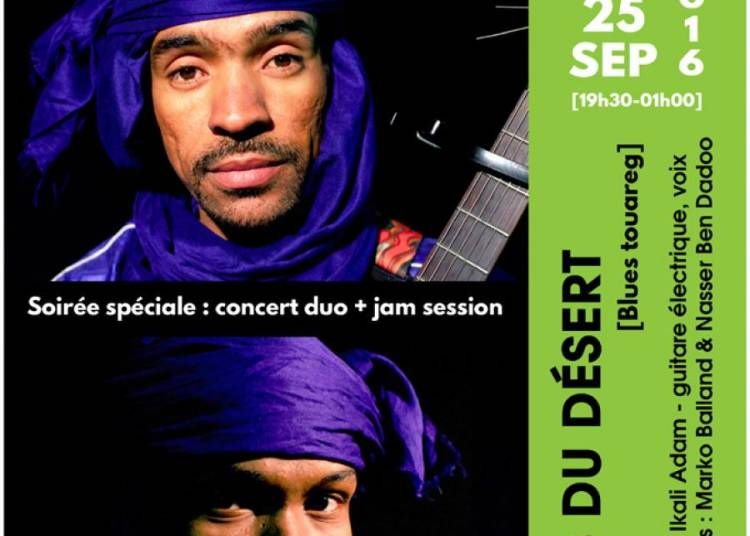 Soir�e Blues du D�sert � Marseille