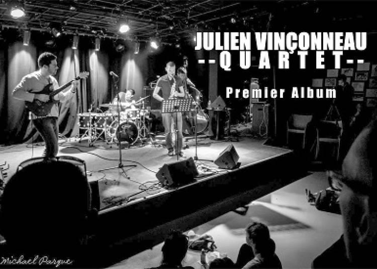 Julien Vinçonneau quartet à Ancenis