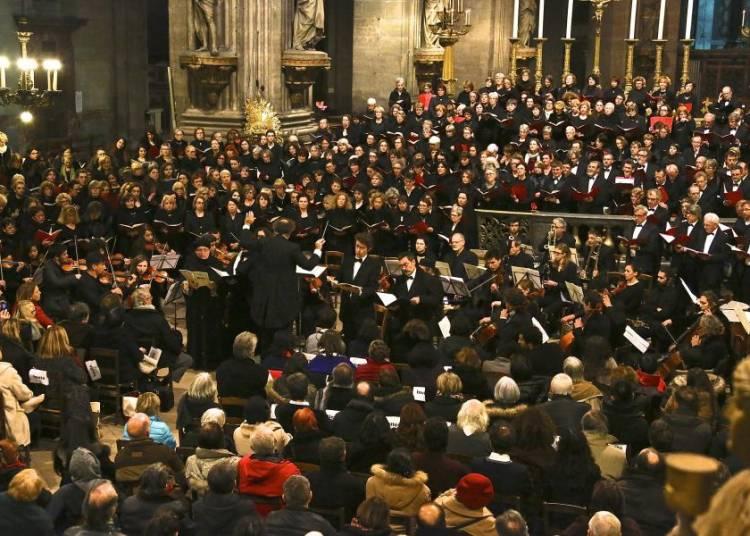 Messe du Couronnement de Mozart � Paris 6�me