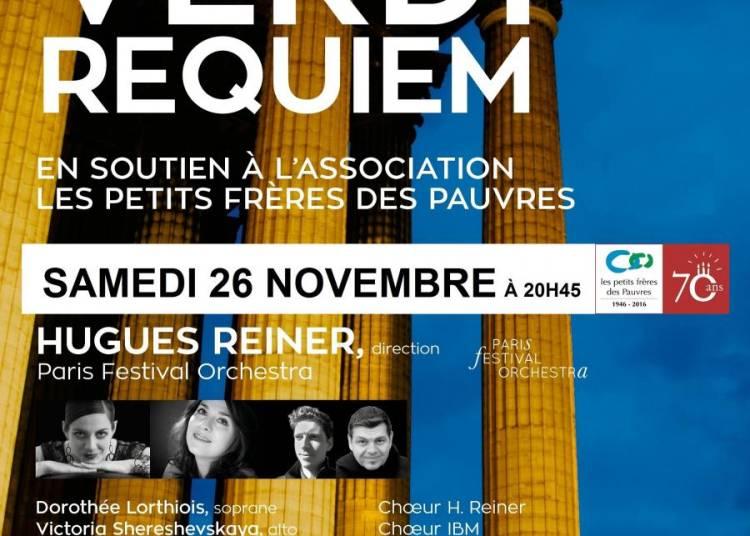Requiem de Verdi � Paris 8�me