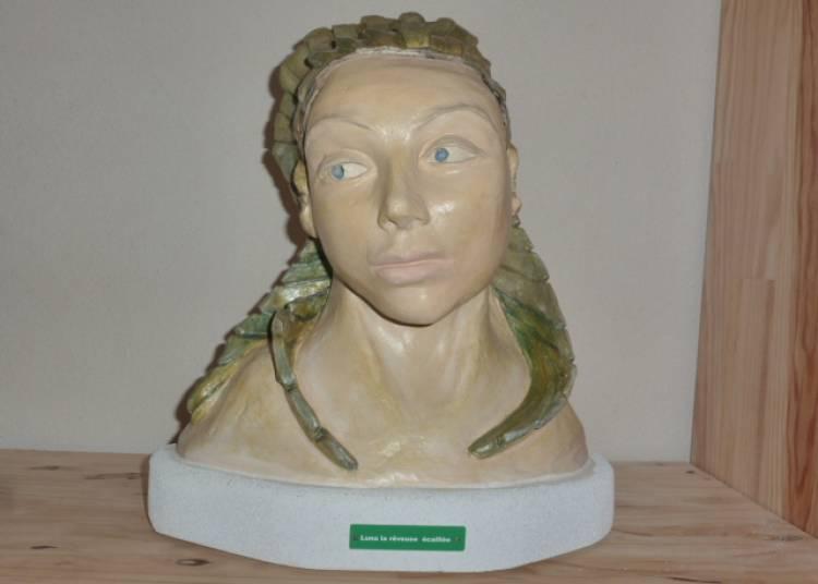 Exposition sculpture art contemporain � Cuttoli Corticchiato