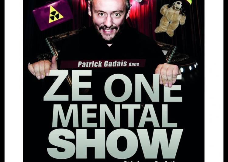 Patrick Gadais dans Ze one mental show à Avignon