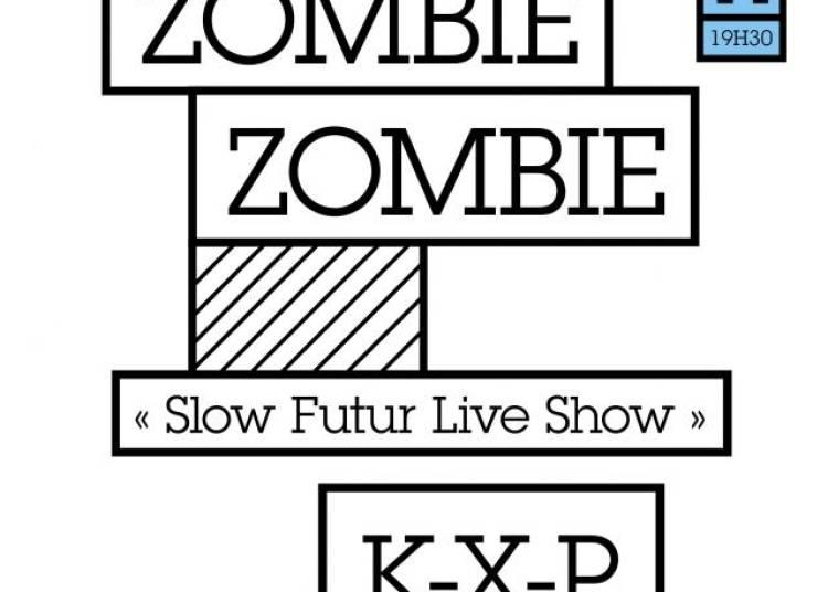 Zombie Zombie Slow Futur Live Show + Guest � Paris 11�me