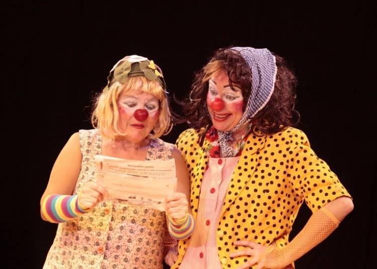 Spectacle de Clowns acteur social: Visions et r�visions clownesques � Montpellier