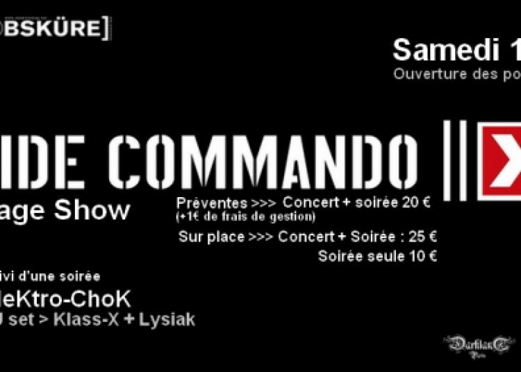 Suicide Commando et Soir�e Elektro-chok � Paris 13�me