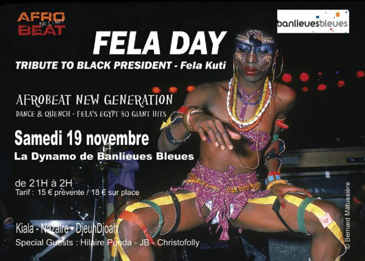 Fela Day 2016 - Afrobeat New Generation : Kiala - Nazaire - Djeuhdjoah � L'Ile saint Denis