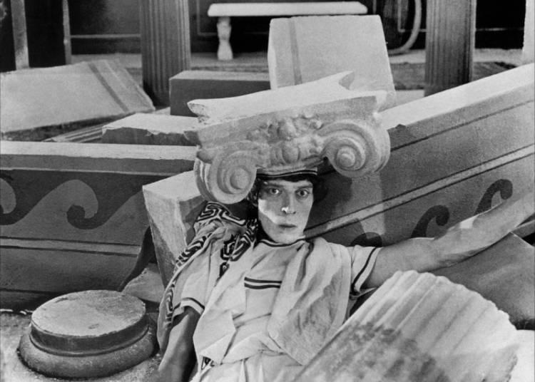 Cin�-concert : Buster Keaton, � Les trois �ges � � Strasbourg