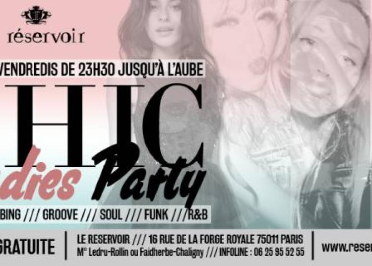Chic Ladies Party à Paris 11ème