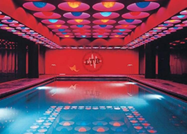 Disco Pool : Aur�., Matthew Bartoloni et Baxley � Paris 13�me