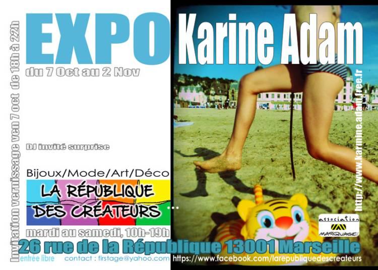 Karine Adam � Marseille