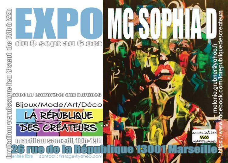 Peintures de MG Sophia D � Marseille