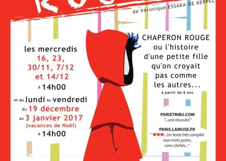 Chaperon rouge � Paris 18�me