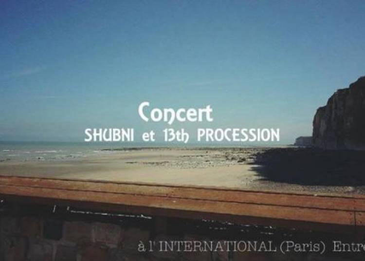 Shubni et 13th Procession � Paris 11�me